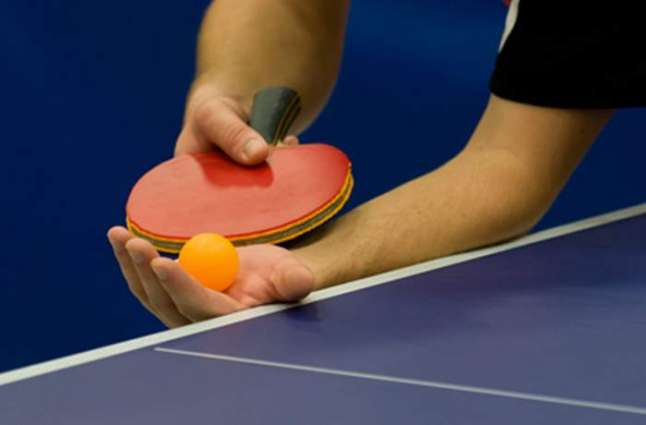 District table tennis from Aug 7