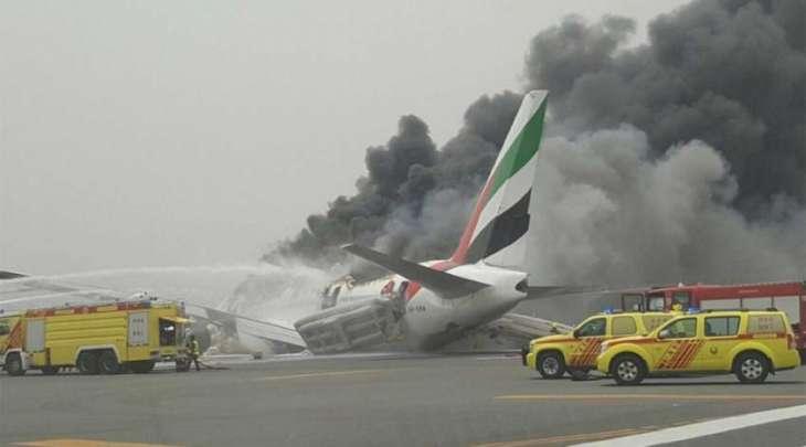 Emirates plane in 'accident on landing' in Dubai: govt