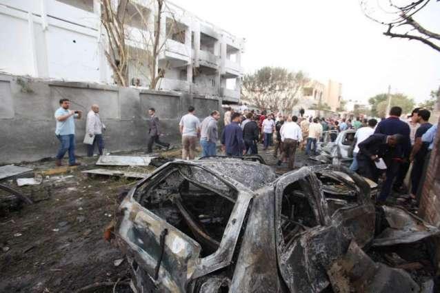 لیبیا وچ کار بمب دھماکے وچ 22 بندے ہلاک