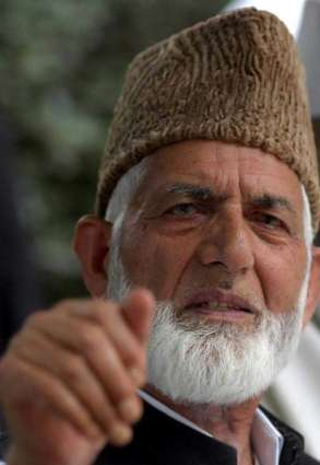 Peace in SA impossible without Kashmir settlement: Ali Gilani