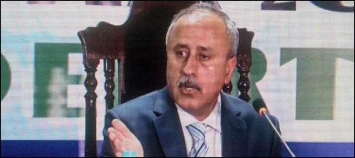 مسکوہی سیکرٹری خزانہ بلوچستان مشتاق رئیسانی احتساب عدالت اٹی دُوارہ پیش، نیب بلوچستان پین 14دے ریمانڈ دوئی کرے