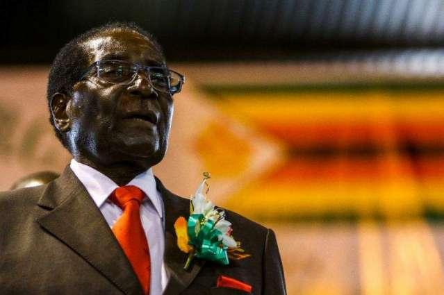 Zimbabwe police break up anti-Mugabe protest: AFP