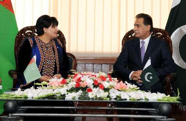 Turkmenistan parliamentary delegation witnesses NA proceedings