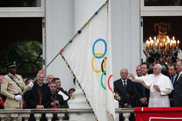Pope urges Rio athletes to 'fight the good fight'