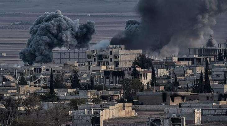 Coalition planes pound IS-held Saddam palace: UK
