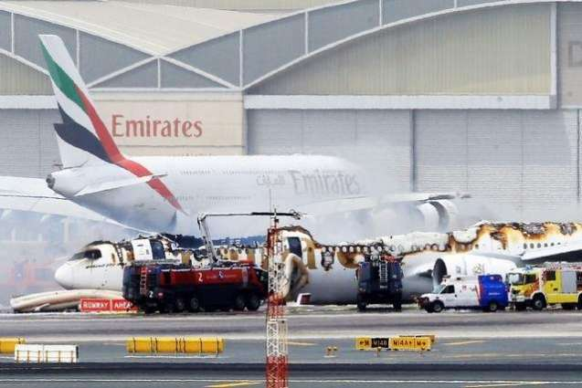 Emirates Airplane passengers have been rescued