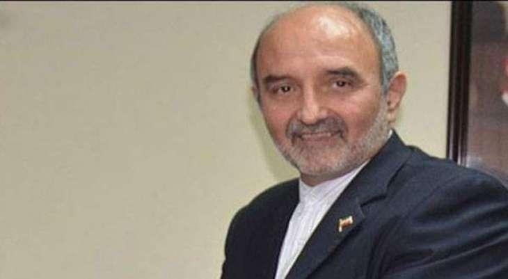 Iranian Ambassador calls on Khawaja Asif