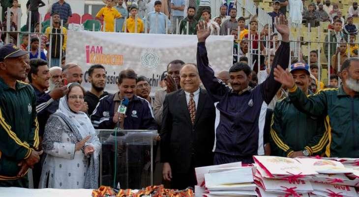 Karachi Aman Sports Festival kicks off from Aug 5