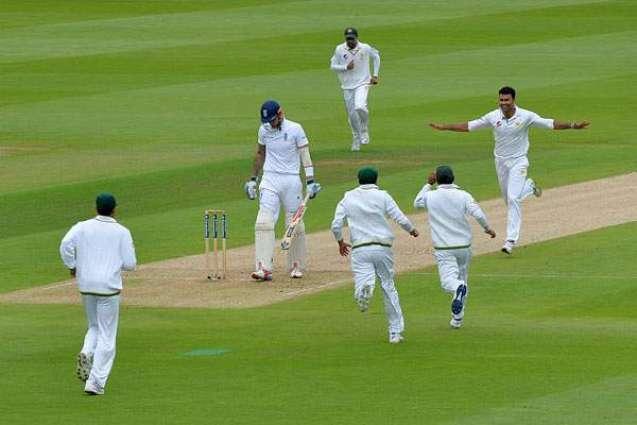 Cricket: England 184-5 against Pakistan