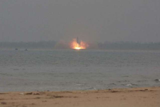 N. Korea fires missile into Japan waters for first time