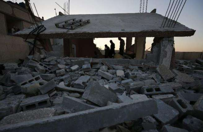Israel demolishes homes of 2 Palestinian assailants