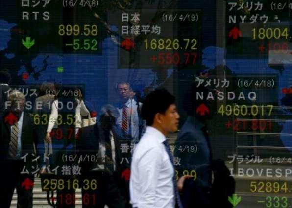 Tokyo's Nikkei index rebounds on weaker yen