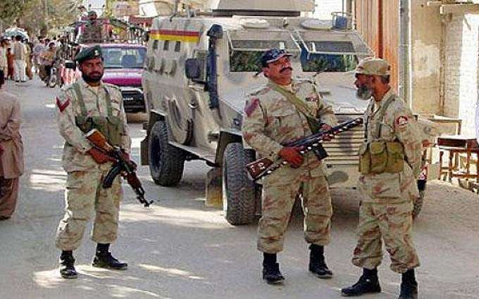 FC holds five suspects with arms