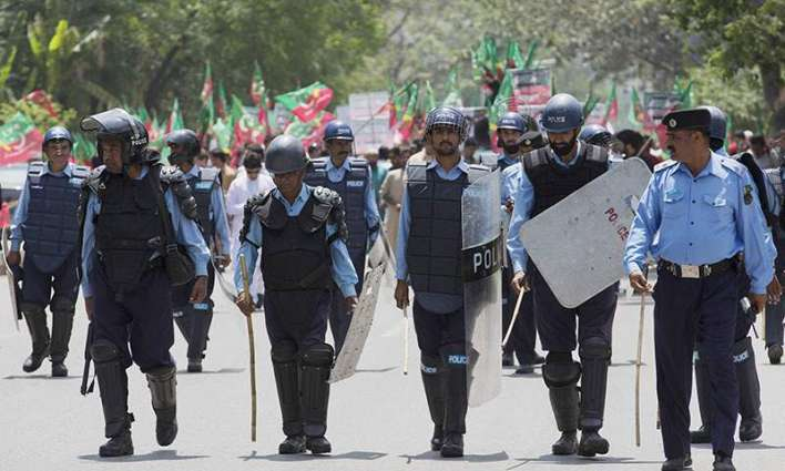 Islamabad Police pays tributes to martyred cops
