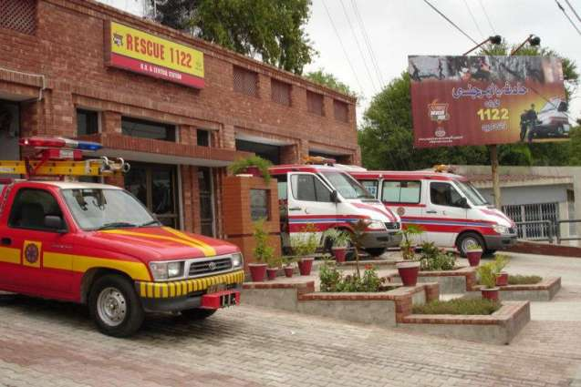 Rescue-1122 provides emergency service to 482 victims