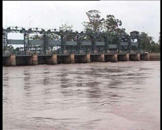 No flood in river Chenab