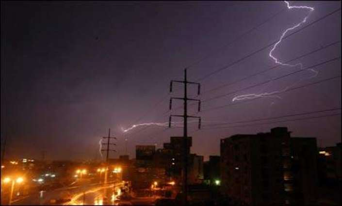 Partly cloudy or thunder-rain forecast in Karachi on Friday