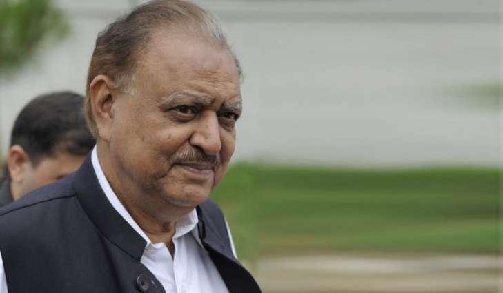 صدر مملکت دی گورنر ہائوس کوئٹہ آونڑ تے بلوچستان پولیس ولوں گارڈ آف آنر پیش کیتا گئیا