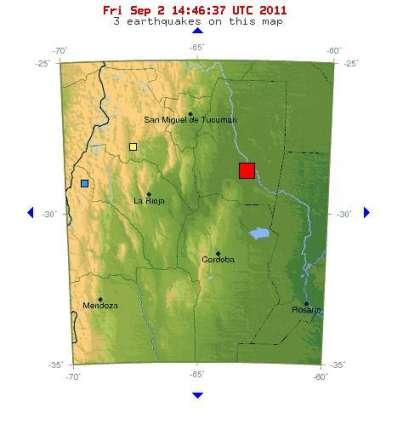 6.0 magnitude quake in northern Argentina: USGS