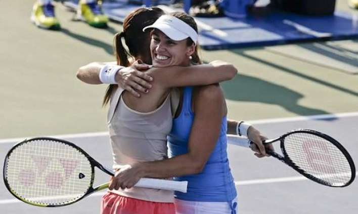 Olympics: Hingis feels like a junior after 20-year Games absence