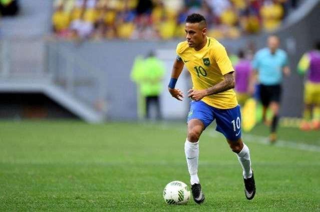 Football: Booed off Brazil won't cruise to gold - Neymar