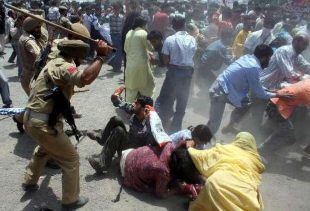 Demos, rallies staged in IOK against killing spree