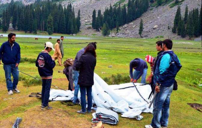 Tourists ratio increases by 25 percent during current season: PTDC