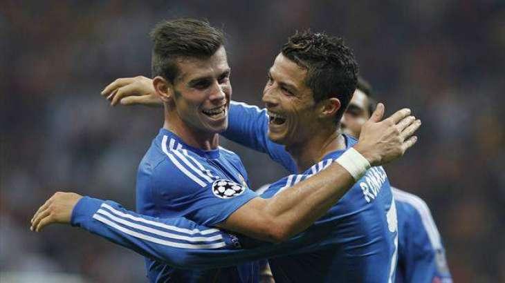 Football: Ronaldo, Bale and Griezmann vie for UEFA award