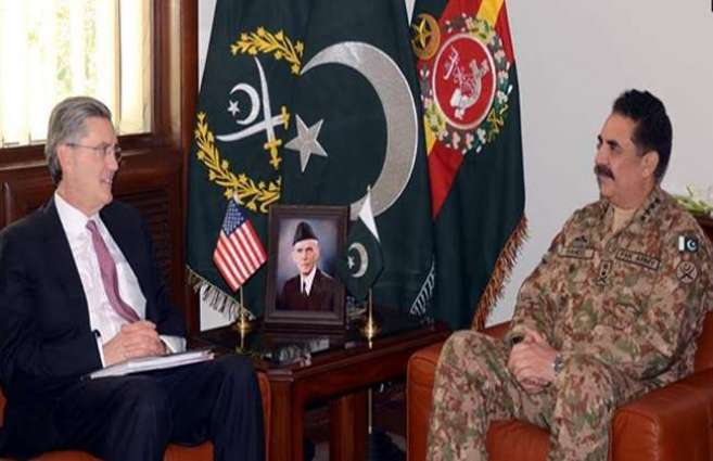 Special Envoy on Afghanistan calls on COAS