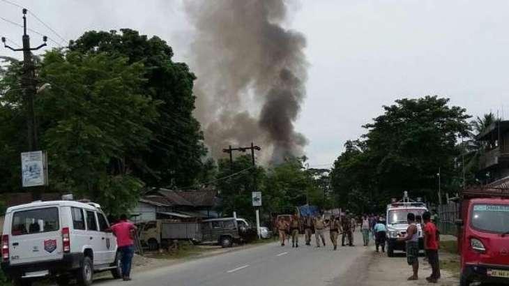 Gunmen kill 12 in attack on market in northeast India