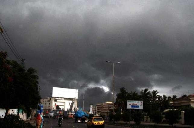 Meteorological department forecast heavy rain in Karachi today