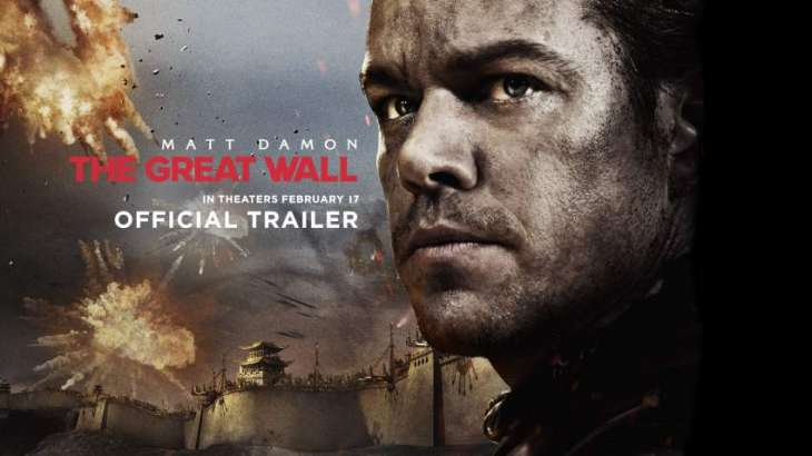 Official trailer of 'The Great Wall' has been released