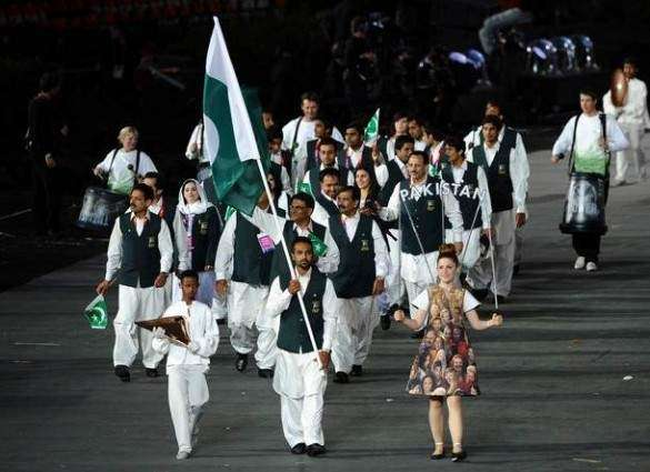 Ghulam Mustafa will lead the Pakistani contingent in Rio Olympic 2016