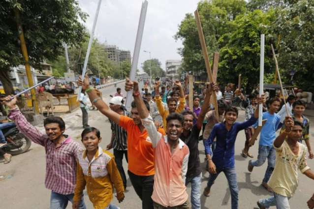 Indian police suspended over death of low-caste man