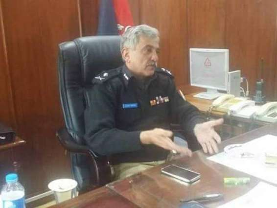 AJK Police chief confers awards on officials