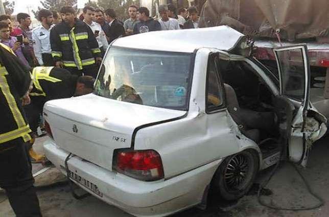راس الخیمہ: کار حادثے وچ 2 بندے ہلاک،2 ڈاڈھے زخمی