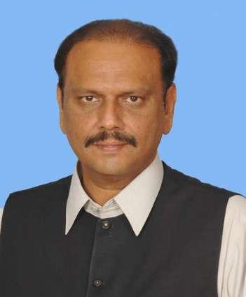وزارت قومی غذائی رکھ و پٹ وپول نا پارلیمانی سیکرٹری رجب علی خان بلوچ نا قومی اسمبلی ٹی ورندی