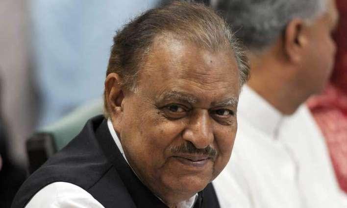 بلوچستان ۾ امن امان جي صورتحال بهتري طرف گامزن آهي: صدر ممنون حسين
