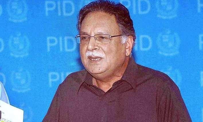 وفاقی وزیراطلاعات تے نشریات پرویز رشیدداممتازاداکارہ شمیم آراء دے انتقال تے ڈکھ تے افسوس