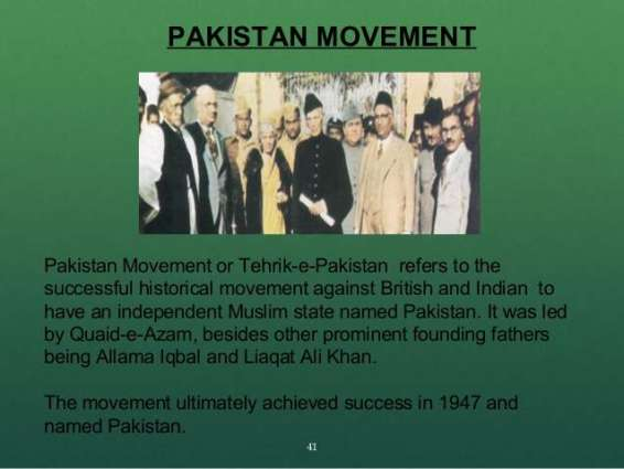 Author emphasizes research on lives of heroes of Pakistan Movement