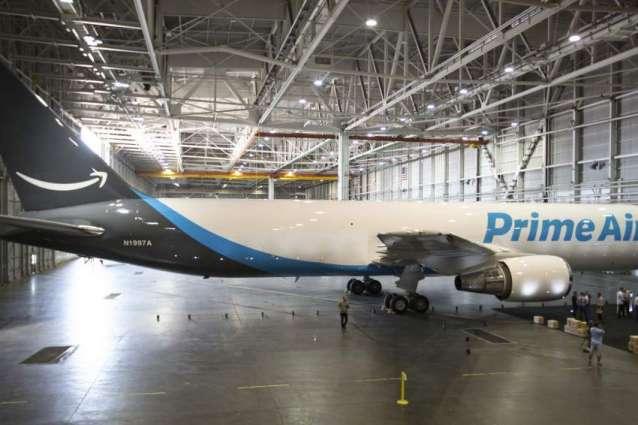 Amazon 'Prime' plane takes flight