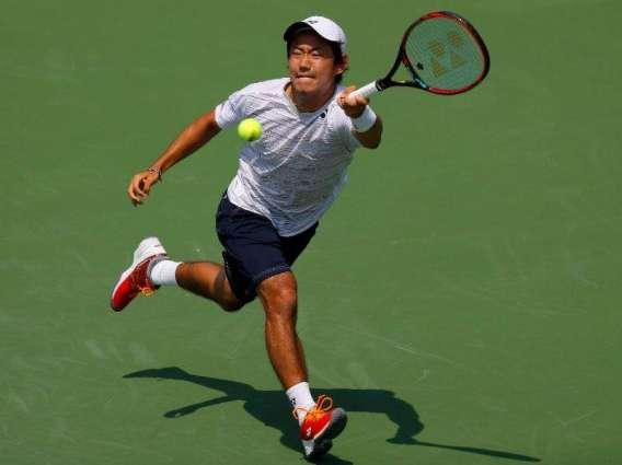 Tennis: Japan's Nishioka reaches first semi-final in Atlanta