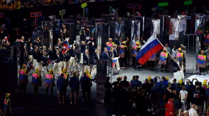 Olympics: Applause as Russia enter Olympic ceremony