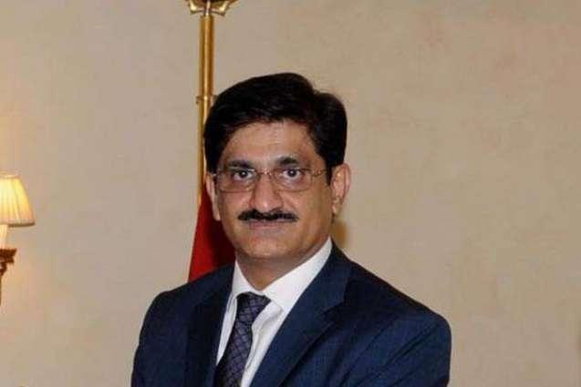 CM Sindh visits different Karachi localities after rains