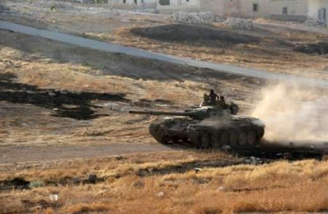 Syria rebels take key positions near Aleppo: monitor