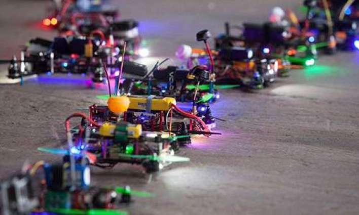 The Second Annual US National Drone Championship has begun in New York