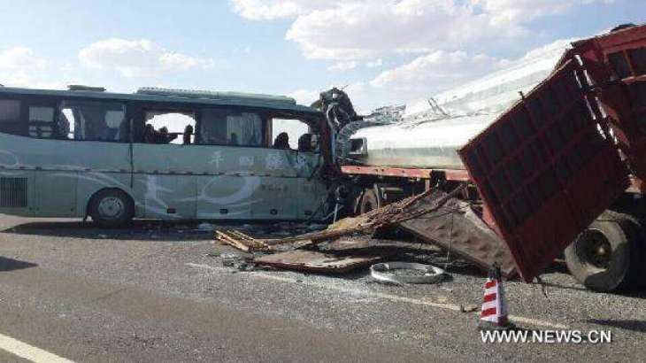 Road accident in china killed 9 passengers