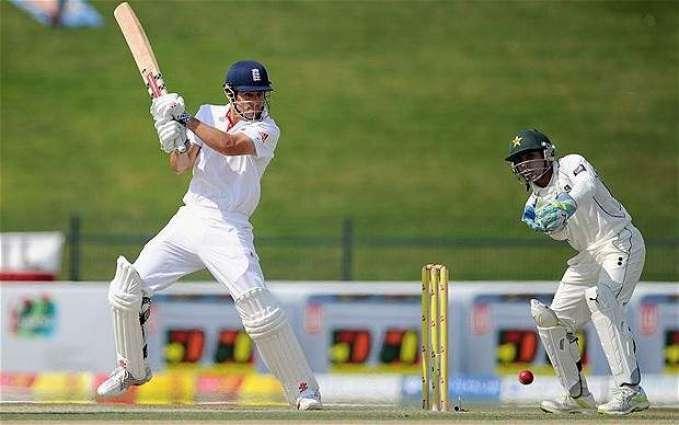 Cricket: England 183-2 against Pakistan