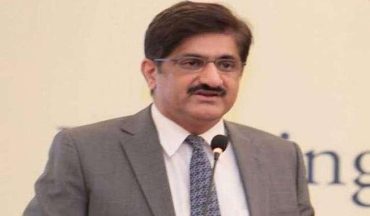 د سندھ اعلی وزير كراچۍ كښې د باران ځپليو بېلو سيمو دوره