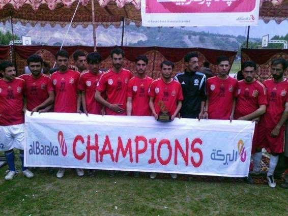Jashne-e-Azadi football tournament begins
